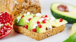 Tostada ideal para el almuerzo