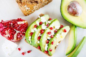 almorzar tostada dieta saludable completa