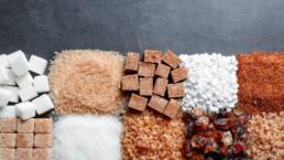 Diferentes tipos de azúcares
