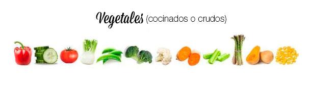 Vegetales para tu ensalada